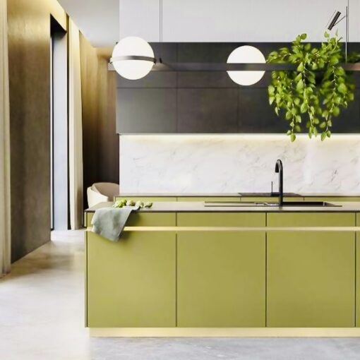 vinilo verde oliva para muebles